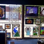Stained Glass panels currently for sale in Studio