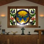Custom window done for Brightwell Chapel in Georgetown Hospital